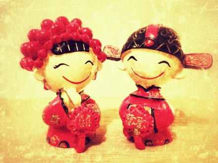 Chinese wedding figures