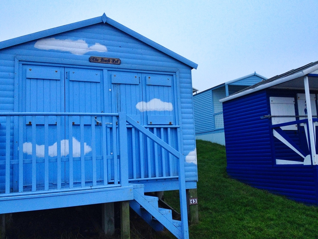 Photograph of beach hut