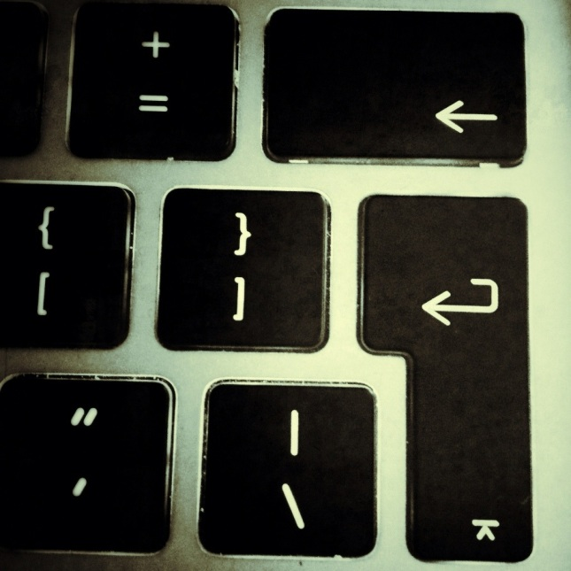 Keyboard return key
